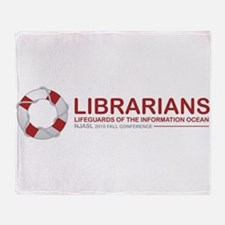 Librarian Lifeguards Throw Blanket