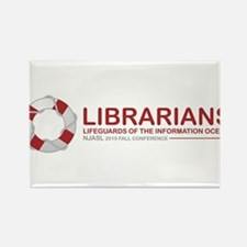 Librarian Lifeguards Magnets