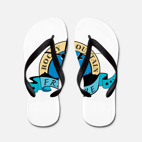 Rocky Mountain Freestyle Apparel Flip Flops