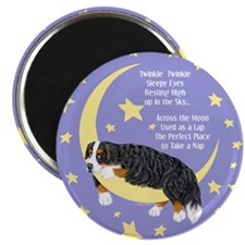 Bernese MT Dog Twinkle Magnet