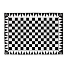 Masonic Tessellated Pavement 5'x7'area Rug