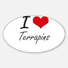 I love Terrapins Artistic Design Decal