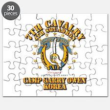 4/7 Cav - Camp Gary Owen Korea Puzzle