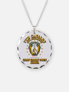 4/7 Cav - Camp Gary Owen Kor Necklace