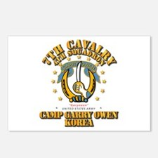 4/7 Cav - Camp Gary Owen Postcards (Package of 8)