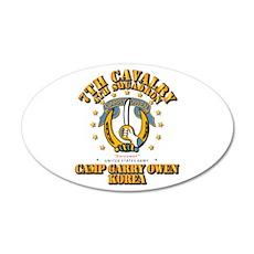 4/7 Cav - Camp Gary Owen Kor Wall Decal