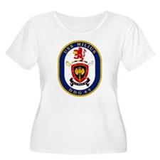 USS Milius DDG 69 Women's Plus Size Scoop Neck Tee
