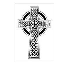 Celtic Cross Postcards (Package of 8)