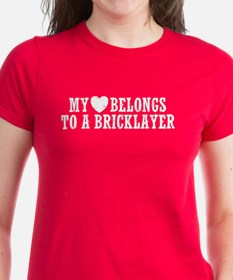My Heart Bricklayer Tee