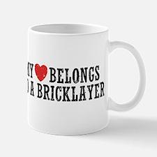 My Heart Bricklayer Mug