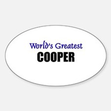 Worlds Greatest COOPER Oval Decal