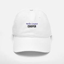 Worlds Greatest COOPER Baseball Baseball Cap