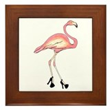 Flamingo Framed Tiles