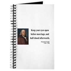 Benjamin Franklin 6 Journal