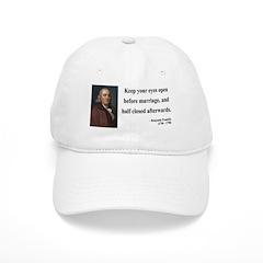 Benjamin Franklin 6 Baseball Cap