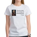 Benjamin Franklin 6 Women's T-Shirt