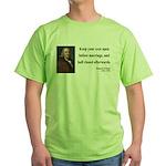 Benjamin Franklin 6 Green T-Shirt