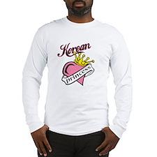 Korean Princess Long Sleeve T-Shirt