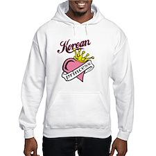 Korean Princess Hoodie Sweatshirt
