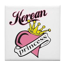 Korean Princess Tile Coaster