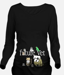 Unique A dark future Long Sleeve Maternity T-Shirt