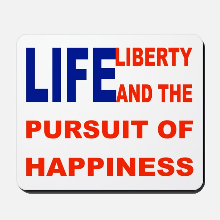 Happiness Flag Mousepad