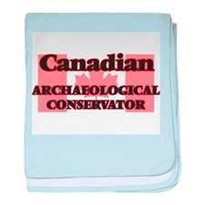 Canadian Archaeological Conservator baby blanket