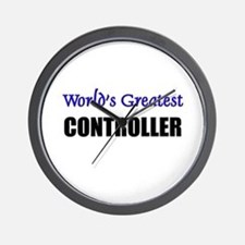 Worlds Greatest CONTROLLER Wall Clock