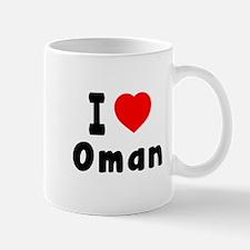 I Love Oman Mug