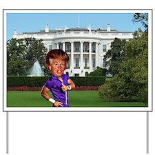 president donald trump Yard Sign