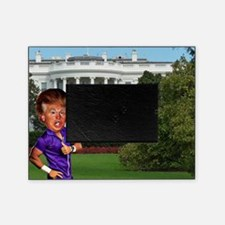 president donald trump Picture Frame