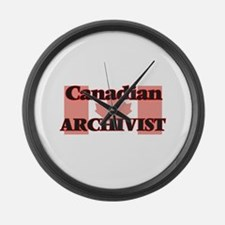 Canadian Archivist Large Wall Clock