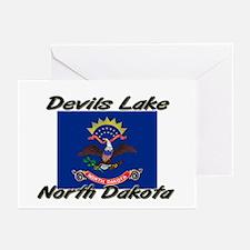 Devils Lake North Dakota Greeting Cards (Pk of 10)