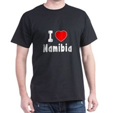 I Love Namibia T-Shirt