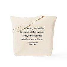Benjamin Franklin 7 Tote Bag