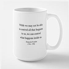 Benjamin Franklin 7 Large Mug