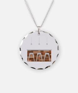 Bar Stools Necklace