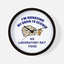 Brain Donation Wall Clock
