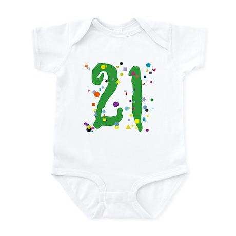 21 Confetti Infant Bodysuit