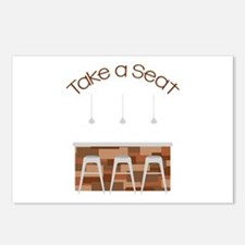 Take A Seat Postcards (Package of 8)