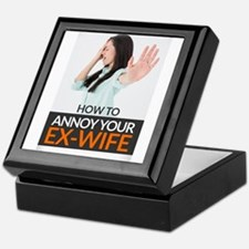 How to Annoy your Ex-Wife Keepsake Box