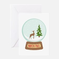 North Pole Greeting Cards