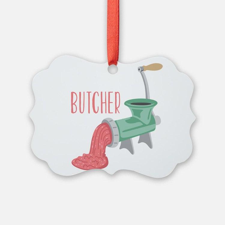 Butcher Grinder Ornament