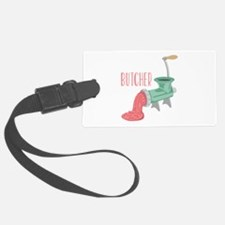 Butcher Grinder Luggage Tag