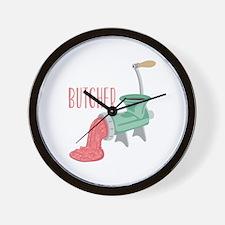 Butcher Grinder Wall Clock