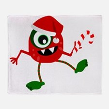 Funny Monster humor Throw Blanket