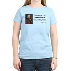 Benjamin Franklin 9 Women's Light T-Shirt