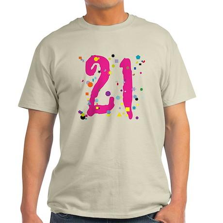 21 Confetti Light T-Shirt