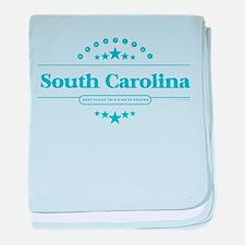 South Carolina baby blanket