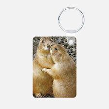 Prairie Dog Kiss Keychains